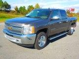 2013 Mocha Steel Metallic Chevrolet Silverado 1500 LT Crew Cab 4x4 #72991995