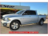2012 Bright Silver Metallic Dodge Ram 1500 Lone Star Crew Cab #72991875