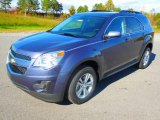 2013 Atlantis Blue Metallic Chevrolet Equinox LT #72991994