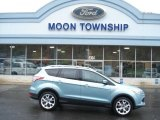 2013 Frosted Glass Metallic Ford Escape Titanium 2.0L EcoBoost 4WD #72991720