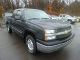 2003 Dark Gray Metallic Chevrolet Silverado 1500 Z71 Extended Cab 4x4 #72991706