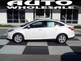 2012 Oxford White Ford Focus SEL Sedan #72991840