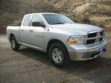 2011 Bright Silver Metallic Dodge Ram 1500 SLT Quad Cab 4x4 #73054785