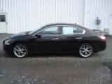 2010 Crimson Black Nissan Maxima 3.5 SV #73054893