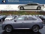 2013 Nebula Gray Pearl Lexus RX 350 F Sport AWD #73054423
