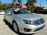 2010 Brilliant Silver Metallic Ford Fusion Hybrid #73054303