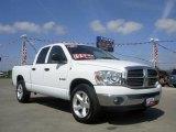 2008 Bright White Dodge Ram 1500 Big Horn Edition Quad Cab #7272361
