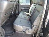 2011 Ford F350 Super Duty Lariat Crew Cab Dually Rear Seat