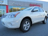 2013 Pearl White Nissan Rogue S #73054529