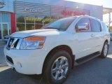 2012 Blizzard White Nissan Armada Platinum #73054524