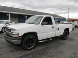 2001 Summit White Chevrolet Silverado 1500 LS Regular Cab 4x4 #73054873