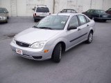 2005 CD Silver Metallic Ford Focus ZX4 S Sedan #7279154