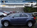 2013 Atlantis Blue Metallic Chevrolet Equinox LT AWD #73054865