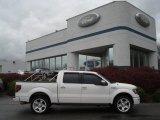 2011 White Platinum Metallic Tri-Coat Ford F150 Limited SuperCrew 4x4 #73054154