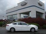 2013 Oxford White Ford Fusion SE #73054152
