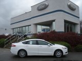2013 Oxford White Ford Fusion SE 1.6 EcoBoost #73054151