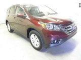 2013 Basque Red Pearl II Honda CR-V EX #73054630