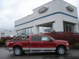 2013 Ruby Red Metallic Ford F150 XLT SuperCrew 4x4 #73054146