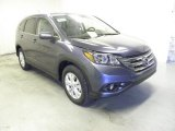 2013 Twilight Blue Metallic Honda CR-V EX-L #73054627