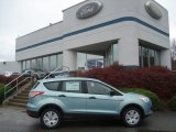 2013 Frosted Glass Metallic Ford Escape S #73054140