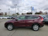 2013 Basque Red Pearl II Honda CR-V EX-L AWD #73054746