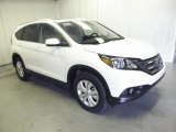 2013 White Diamond Pearl Honda CR-V EX-L #73054623