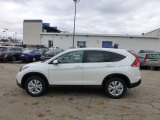 2013 White Diamond Pearl Honda CR-V EX AWD #73054745