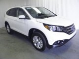2013 White Diamond Pearl Honda CR-V EX AWD #73054622