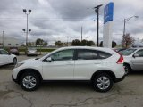 2013 White Diamond Pearl Honda CR-V EX AWD #73054741