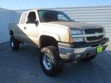 2005 Sandstone Metallic Chevrolet Silverado 1500 Z71 Extended Cab 4x4 #73054493