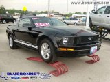 2007 Black Ford Mustang V6 Deluxe Coupe #7272490
