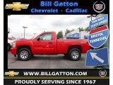 2007 Victory Red Chevrolet Silverado 1500 LT Regular Cab 4x4 #73054832