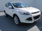 2013 White Platinum Metallic Tri-Coat Ford Escape Titanium 2.0L EcoBoost #73054487