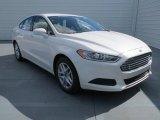 2013 White Platinum Metallic Tri-coat Ford Fusion SE 1.6 EcoBoost #73054485