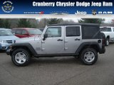 2013 Billet Silver Metallic Jeep Wrangler Unlimited Sport 4x4 #73054346