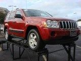 2006 Inferno Red Crystal Pearl Jeep Grand Cherokee Laredo #73054808