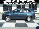 2011 Pacific Blue Kia Sorento LX #73054575