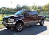 2004 Chestnut Brown Metallic Ford F250 Super Duty King Ranch Crew Cab 4x4 #73113653