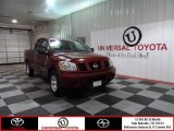 2007 Red Brawn Nissan Titan XE King Cab #73113602