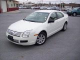 2008 White Suede Ford Fusion S #7279150
