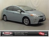 2012 Sea Glass Pearl Toyota Prius 3rd Gen Two Hybrid #73113690