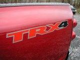 2007 Dodge Ram 1500 TRX4 Off Road Regular Cab 4x4 Marks and Logos