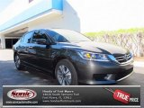 2013 Hematite Metallic Honda Accord LX Sedan #73113564