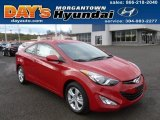 2013 Volcanic Red Hyundai Elantra Coupe GS #73113842