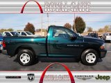 2011 Hunter Green Pearl Dodge Ram 1500 ST Regular Cab 4x4 #73113869