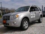 2009 Brilliant Silver Metallic Ford Escape Hybrid 4WD #7286045