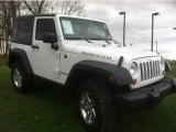 2011 Bright White Jeep Wrangler Rubicon 4x4 #73135761
