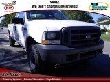 2003 Oxford White Ford F250 Super Duty XL SuperCab 4x4 #73135731