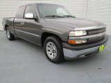 2002 Medium Charcoal Gray Metallic Chevrolet Silverado 1500 LS Extended Cab #73142665