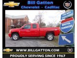 2013 Victory Red Chevrolet Silverado 1500 LT Extended Cab 4x4 #73142906